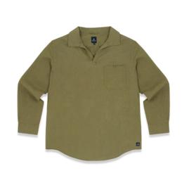 Mousqueton - YANN - Linnen Shirt - Sauge - SS21
