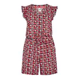 Weird Fish - Suzanne playsuit - Red