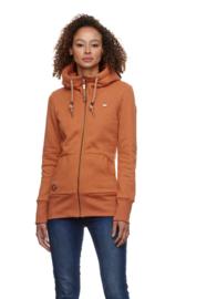 Ragwear - NESKA ZIP - Sweatshirt - Cinnamon - SS21