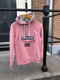Napapijri Hoody Burgee - Pink Blush