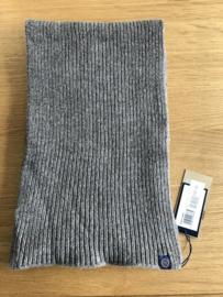 Henri Lloyd Knitted Scarf 80% Wool - Grey / Navy