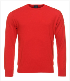 Paul & Shark Knitted Roundneck - red