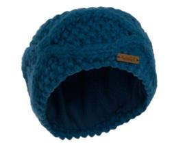 Weird Fish Ellor Chunky Cable Knit Headband - Storm Blue