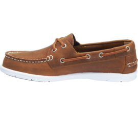 Sebago Leather Docksides - Chocolat (W)