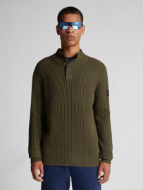 North Sails Cotton and Wool Jumper - Forest Night