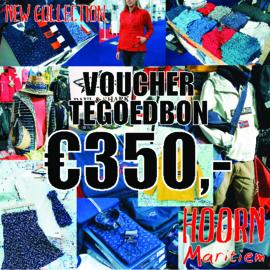 Voucher t.w.v. €350,- voor slechts €300,-