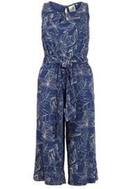 Weird Fish - Printed Jumpsuit - Nalani - Ensign Blue - SS21