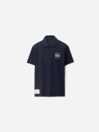 North Sails - POLO S/S W/GRAPHIC - Navy Blue - SS21
