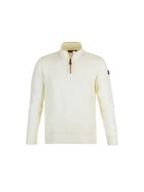 Paul & Shark 1/4 Zip Sweater - White