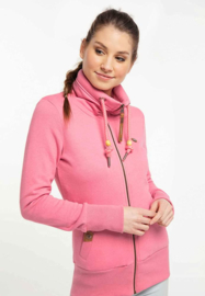 Ragwear Rylie Zip Sweatvest - Rose