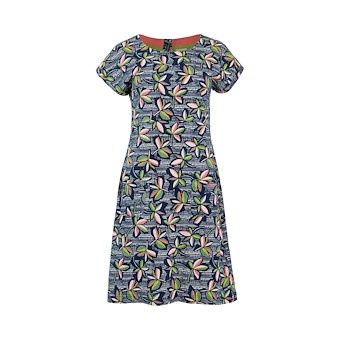 Weird Fish Tallahassee Patterned Dress flowers (W)