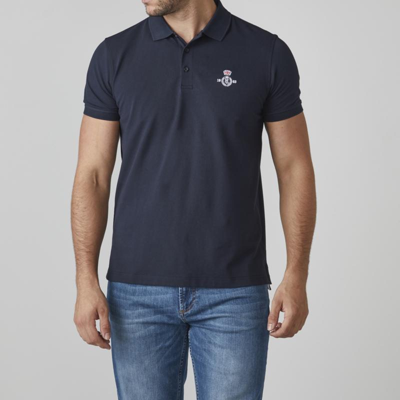 Henri Lloyd Benton Branded Polo - Dark Navy