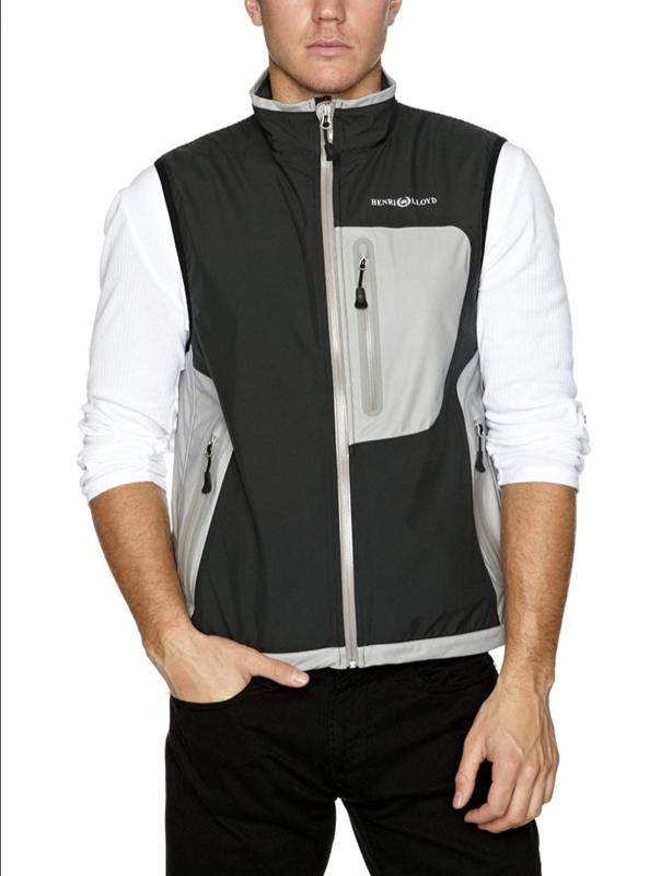 Henri Lloyd Octane windstop Body warmer Men - Carbon