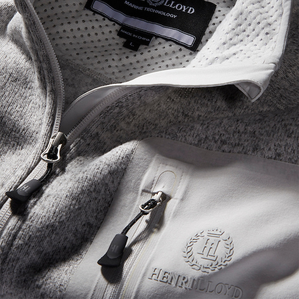 Henri Lloyd Traverse Full Zip Grey