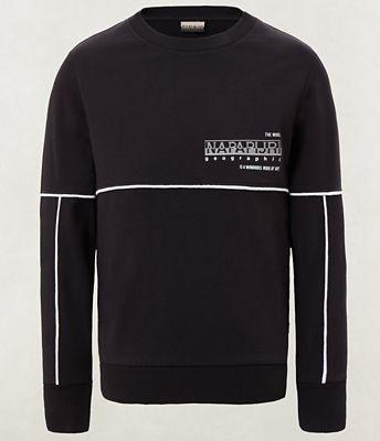 Napapijri Sweater Black Graphic