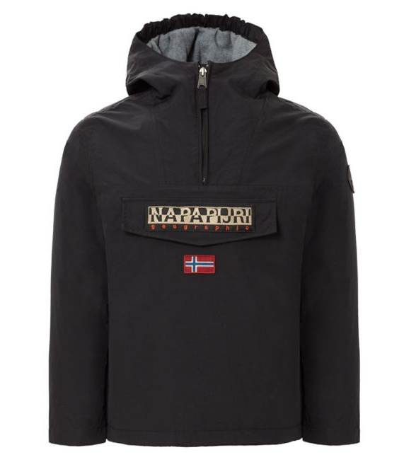 Rainforest Winter 1/2 Zip Black