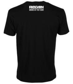 "Regain ""Brains Hit The Floor"" T-Shirt"