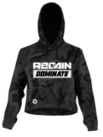 "Regain ""Dominate"" Womens Cropped Hoodie"