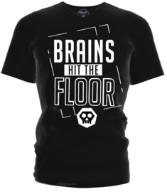 "Regain ""Brains Hit The Floor"" T-Shirt"