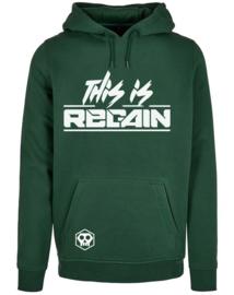"""""""This is Regain"""" Bottle Green Hoodie (2021) - Pre-Order"""