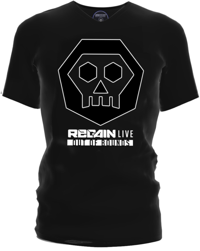 "Regain ""Out of Bounds"" Black T-Shirt"