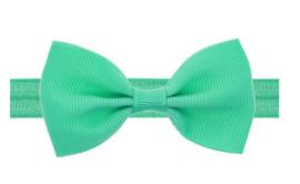 Haarband strikje groen