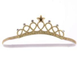 Haarband prinses goud