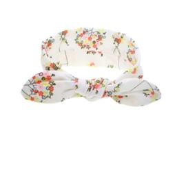 Haarband bloementjes