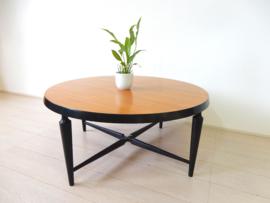 Vintage tafel salontafel rond jaren 60 Webe