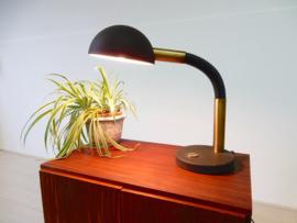 XL retro vintage lamp tafellamp Bureaulamp jaren 70 / 80