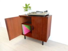 retro vintage kast dressoir jaren 60 lp kast platen tv kast