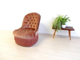 vintage klassieke fauteuil stoel jaren60 hollywood regency