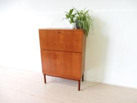 retro vintage kast secretaire bureau jaren 60