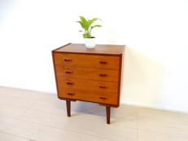 retro vintage ladekast kast dressoir jaren 60 teak