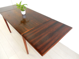 retro vintage eettafel tafel jaren 60 palissander hout