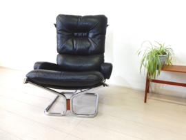 vintage HARALD RELLING WING fauteuil stoel design jaren 70 Westnofa