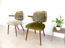 retro vintage stoel eetkamerstoel jaren 50 stoelen