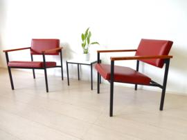 Vintage fauteuil stoel jaren 60 design