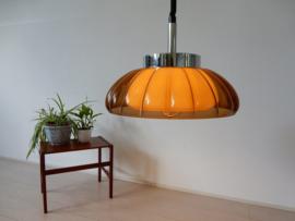 retro vintage lamp hanglamp plafondlamp jaren 60 kunststof