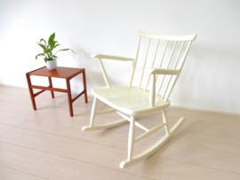 retro vintage stoel pastoe fauteuil schommelstoel jaren 60