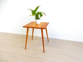 retro vintage bijzettafel tafel jaren 50 / 60 plantentafel