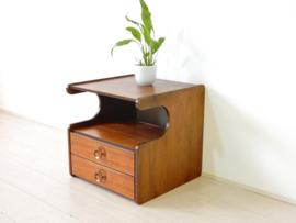 Vintage kast dressoir audio meubel ladekast platenkast