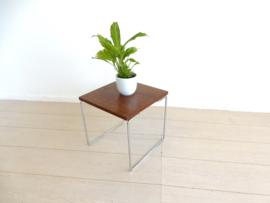 retro vintage bijzettafel tafel jaren 70 plantentafel