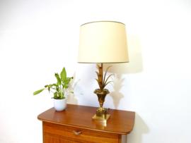 vintage messing hollywood regency tafellamp dressoir lamp