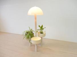 vintage lamp ypma vloerlamp staanlamp 70s plantenstandaard