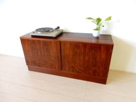 vintage deens DANISH kast dressoir tv meubel lp kast jaren60
