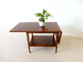 retro vintage bijzettafel salontaftafel jaren60 plantentafel