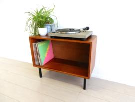 vintage kast dressoir jaren 60 lp kast platen Poul Cadovius