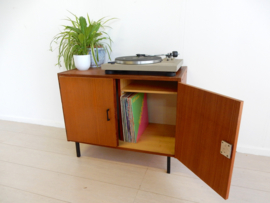retro vintage kast dressoir jaren 60 tv kast lp kast platen
