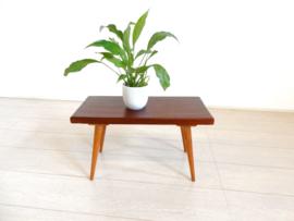 retro vintage bijzettafel jaren 60 plantentafel